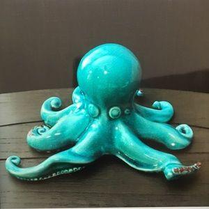 Ceramic Aqua Octopus